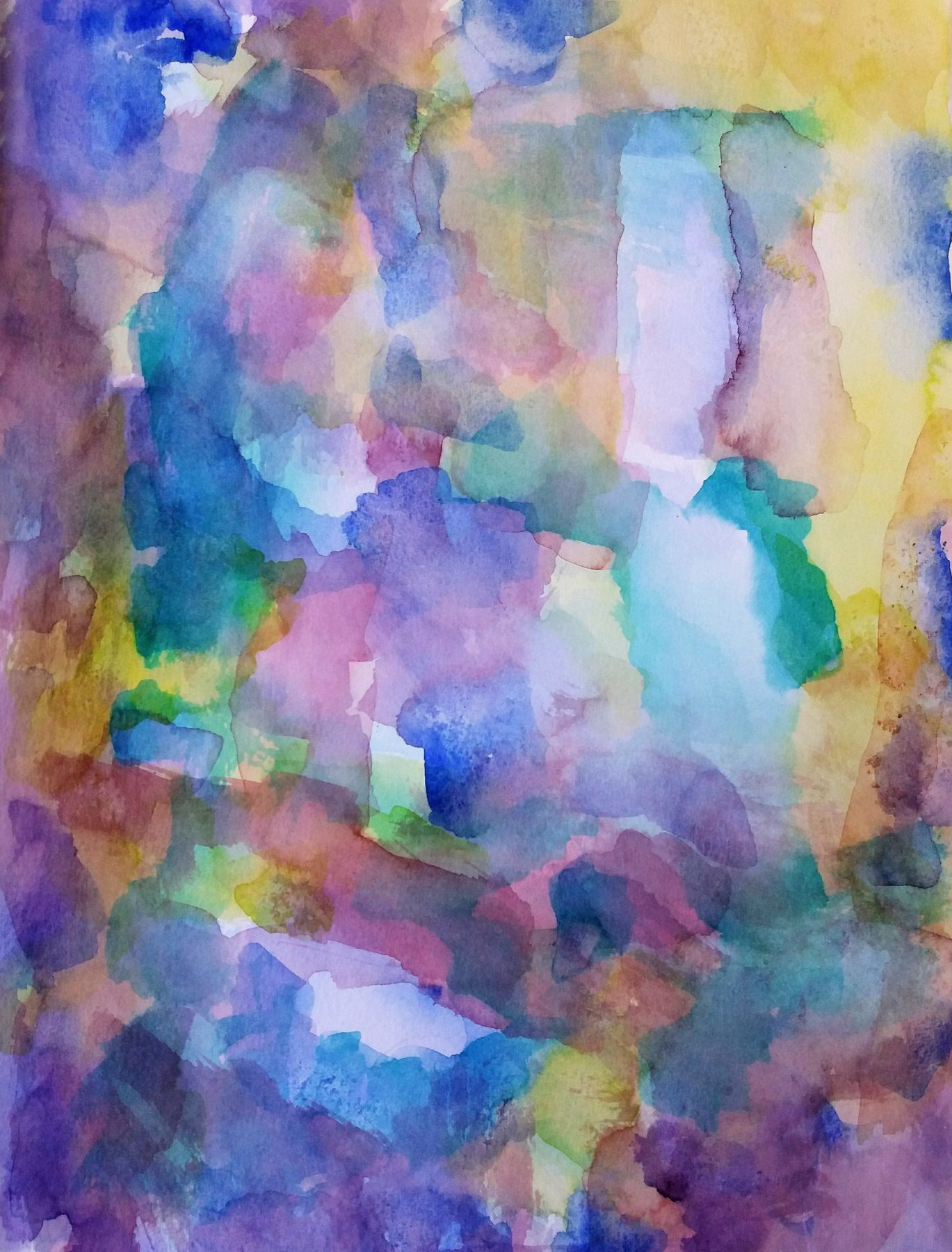 Abstract watercolors III